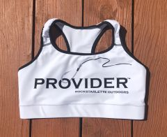 PROVIDER™ Fishing Logo Athletic Top, NEW! Active Wear, Moisture Wicking, Full Support, Made in USA