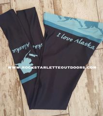 Love Alaska Leggings, On SALE! Made in the USA