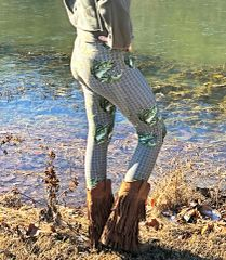 Bass Fishing / River Rock Leggings
