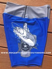 Fishing and Beer Logo Athletic Shorts, NEW! Made in the USA