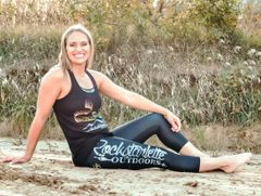 Logo Leggings, Black with Snow Birch Logo, CAPRI Version, Option to add Wide Yoga Waistband