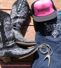 SALE $5 OFF, BOWHUNT, Mesh Back Trucker Hat in Hot Pink