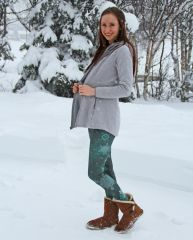 Snowflake Holiday Leggings, Limited Edition, Available until Dec 31st