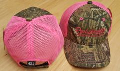 SALE $13 OFF Hot Pink Mesh Back Mossy Oak Camo Rockstarlette Bowhunting Hat