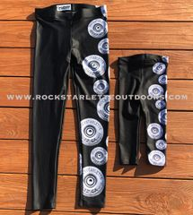 Youth Shotgun Logo Leggings, (2T-14) Made in the USA