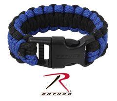 Blue Lives matter support para-cord wrist band