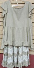 Linen Skirt/Blouse