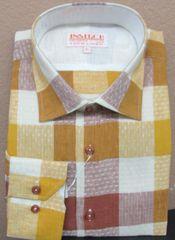 Linen Shirt/ Gold