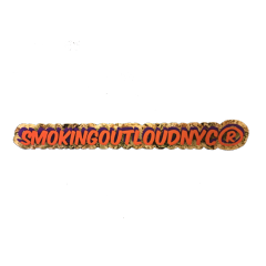 #smokingoutloudnyc Sticker