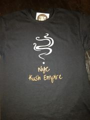 Nyc Kush Empire black logo t-shirt