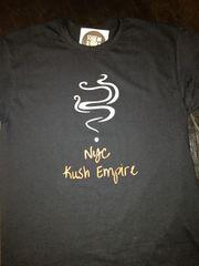 Nyc Kush Empire black logo t-shirt