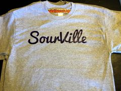 SourVille Men's grey T-shirt