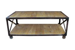 Iron and Elm Coffee Table