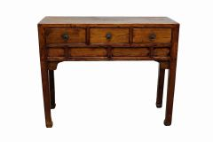 Antique Table - Three Drawers