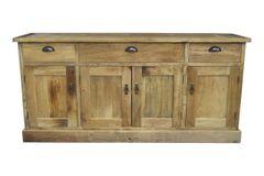 Four Door Storage Cabinet (CA_M0023)