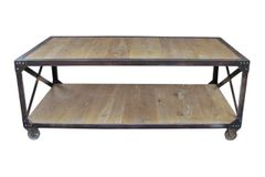Elm/Iron Coffee Table (CT_M0007)