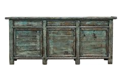 Rustic Three Door/Three Drawer Cabinet