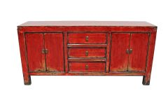 Painted Cabinet - Red (161868)