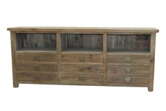 Low Side Cabinet - Nine Drawers (CA_M0033)