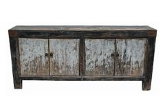 Rustic Gray.Black Cabinet