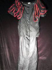 SPECTRUM UNIQUENESS ONE OF A KIND- 3 pc. AFROCENTRIC BLACK, RED TRIM