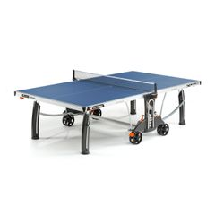 Cornilleau 500M Crossover Indoor / Outdoor Ping Pong Table - Blue