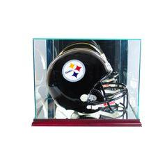 Rectangle Football Helmet Glass Display Case