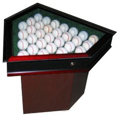Thirty Ball End Table Baseball Display Case