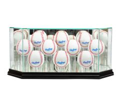 Octagon 10 Baseball Glass Display Case
