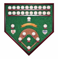 2018 World Series Champion Boston Red Sox 29 Baseball Field View Display Case