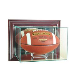 Wall Mount Football Glass Display Case
