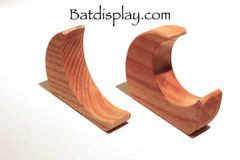 Baseball bat bracket hanger wall mounts