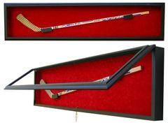 Hockey Stick Premium Display Case Shadow Box