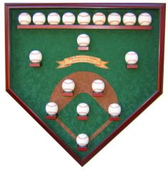 2014 World Series Champion San Francisco Giants 18 Baseball Field Case
