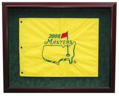 Premium Golf Flag Shadow Box with UV protection and locking door