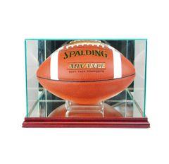 Rectangular Football Glass Display Case