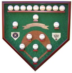 Houston Astros 2017 World Series Champion 18 Baseball Field View Baseball Case