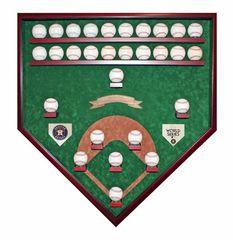 Houston Astros 2017 World Series Champion 29 Baseball Field View Baseball Case