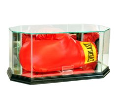 Octagon Boxing Glove Glass Display Case