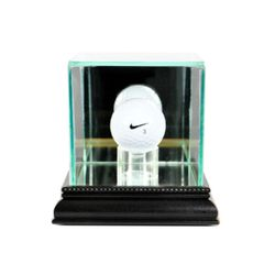 Desktop Single Golfball Glass Display Case