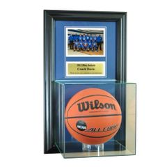 Individual Recognition Award Frame with Basketball Display Case