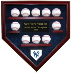 Create Your Own World Series Champions 10 Baseball Display Case