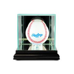 Desktop Single Baseball Glass Display Case