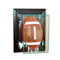 Wall Mount Upright Football Glass Display Case