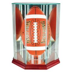 Upright Football Glass Display Case