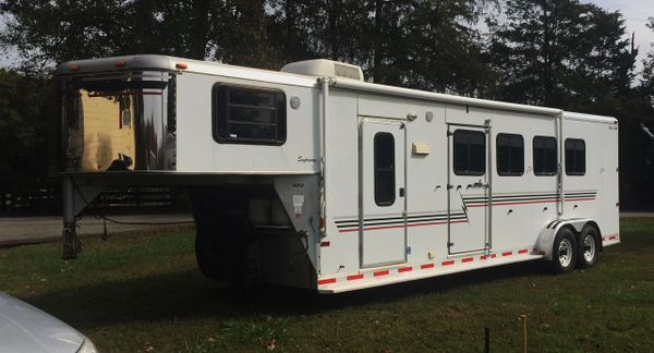 Silver Star 4 Horse With Living Quarters Rosell Trailers Ranch Tack