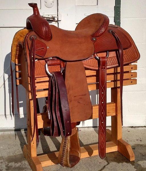 Ruffout Corriente Barrel Saddle – A Murti Schofield