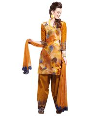 Cotton Mustard Salwar Kameez Churidar Fabric SC8134B