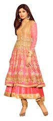 Shilpa Shetty Exclusive Pink Anarkali SC6011