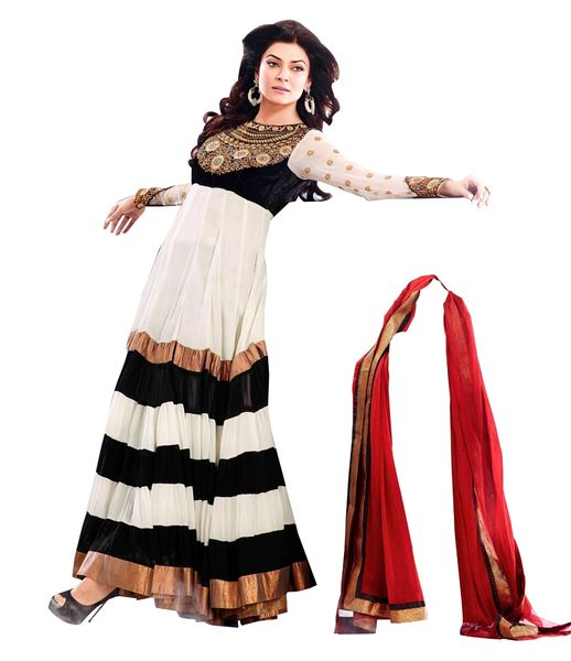 Sushmita Sen Semi Stitched Churidar Suit SC102